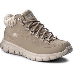 Trekkingi SKECHERS - Winter Nights 12122/STN Stone. Niebieskie buty zimowe damskie marki Skechers. W wyprzedaży za 249,00 zł.