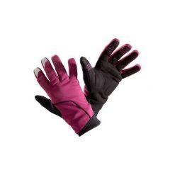 RĘKAWICZKI 500 ZIMOWE. Fioletowe rękawiczki damskie B'TWIN, na zimę. Za 59,99 zł.