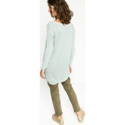 Medicine - Sweter Future Past. Szare swetry klasyczne damskie marki MEDICINE, l, z dzianiny, z okrągłym kołnierzem. W wyprzedaży za 59,90 zł.