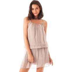 Sukienki balowe: Sukienka w kolorze szarobrązowym