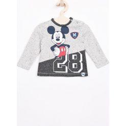 Odzież chłopięca: Blukids – Longsleeve dziecięcy Disney Mickey Mouse 74-98 cm