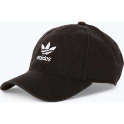 Adidas Originals - Męska czapka z daszkiem, czarny. Czarne czapki z daszkiem męskie adidas Originals, z haftami. Za 99,95 zł.