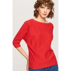 Sweter - Czerwony. Czerwone swetry klasyczne damskie Reserved, l. Za 49,99 zł.