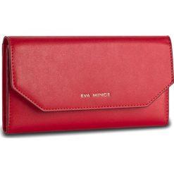 Duży Portfel Damski EVA MINGE - Benita 2W 17NB1372185EF 108. Czerwone portfele damskie Eva Minge, ze skóry. W wyprzedaży za 139,00 zł.