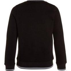 BOSS Kidswear Bluza schwarz. Niebieskie bluzy chłopięce marki BOSS Kidswear, z bawełny. Za 349,00 zł.