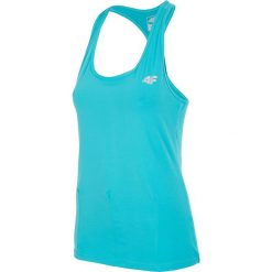 Damska koszulka sportowa 4F Fitness 04 Dry Control. Zielone bluzki sportowe damskie Astratex, w paski, z materiału. Za 47,59 zł.