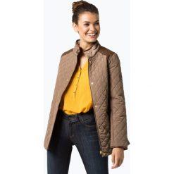LAUREN RALPH LAUREN - Damska kurtka pikowana, beżowy. Brązowe kurtki damskie pikowane Lauren Ralph Lauren, m, ze skóry. Za 399,95 zł.