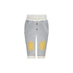 Steiff Boys Spodnie Paski blue. Niebieskie spodnie chłopięce marki Steiff, w paski, z bawełny. Za 75,00 zł.