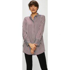 Vero Moda - Koszula. Szare koszule damskie marki Vero Moda, l, w paski, z poliesteru, eleganckie, z długim rękawem. W wyprzedaży za 129,90 zł.