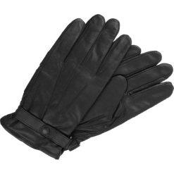 Rękawiczki męskie: Barbour Rękawiczki pięciopalcowe Black