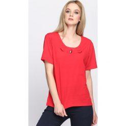 Bluzki damskie: Czerwony T-shirt Subtype