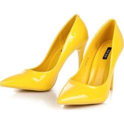 Szpilki: Żółte szpilki vices Vices odcienie żółtego i złota