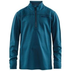 Craft Bluza Chłopięca Pin 134/140 Niebieska. Niebieskie bluzy chłopięce rozpinane Craft. Za 131,00 zł.