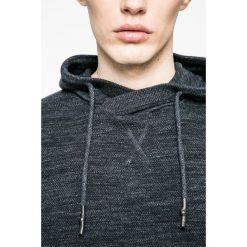Medicine - Sweter Nocturnal. Czarne swetry klasyczne męskie marki MEDICINE, l, z bawełny, z kapturem. W wyprzedaży za 99,90 zł.