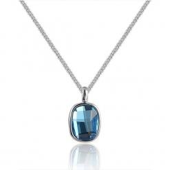 Naszyjnik z kryształkami Swarovski - dł. 40 cm. Niebieskie naszyjniki damskie Biżuteria z kryształkami Swarovski. W wyprzedaży za 68,95 zł.