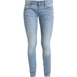 GStar LOW SKINNY WMN Jeans Skinny Fit lt aged. Czarne jeansy damskie relaxed fit marki G-Star, z bawełny. Za 469,00 zł.