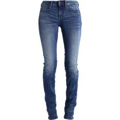 GStar 3301 MID STRAIGHT  Jeansy Straight Leg elto superstretch. Niebieskie jeansy damskie G-Star. Za 419,00 zł.