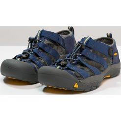 Keen NEWPORT H2 Sandały trekkingowe blue depth/gargoyle. Czerwone sandały chłopięce marki Keen, z materiału. Za 239,00 zł.