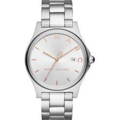 Marc Jacobs HENRY Zegarek silvercoloured. Szare, analogowe zegarki damskie Marc Jacobs. Za 919,00 zł.