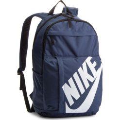 Plecak NIKE - BA5381 471. Niebieskie plecaki damskie Nike, z materiału, sportowe. Za 99,00 zł.