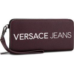 Duży Portfel Damski VERSACE JEANS - E3VSBPB1 70709 331. Czerwone portfele damskie Versace Jeans, z jeansu. Za 349,00 zł.