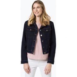 BOSS - Damska kurtka jeansowa – Novia, niebieski. Niebieskie kurtki damskie jeansowe Boss. Za 449,95 zł.