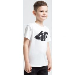 Bluzki dziewczęce: Koszulka sportowa dla małych chłopców JTSM306z – biały