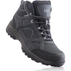 Buty skate męskie: Wysokie buty outdoorowe bonprix antracytowo-czarny