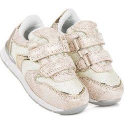 Buty dziecięce: ZŁOTE TRAMPKI AMERICAN American Club