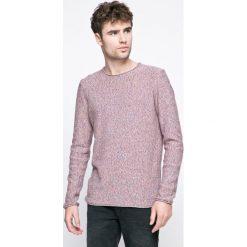 Review - Sweter. Szare swetry klasyczne męskie marki Review, m, z bawełny, z okrągłym kołnierzem. W wyprzedaży za 59,90 zł.