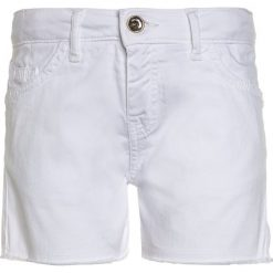 Odzież chłopięca: Patrizia Pepe TROUSER Spodnie materiałowe milk white