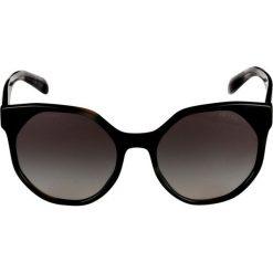 Prada Okulary przeciwsłoneczne striped grey. Szare okulary przeciwsłoneczne damskie lenonki marki Prada. Za 959,00 zł.