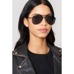 Okulary przeciwsłoneczne damskie: Le Specs Okulary przeciwsłoneczne Kingdom - Black