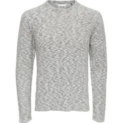 Swetry męskie: Sweter z okrągłym dekoltem, cienka dzianina