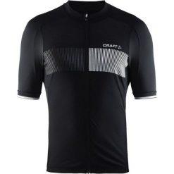 Craft Koszulka rowerowa męska Verve Glow czarna r. L (1904995-9999). Białe odzież rowerowa męska marki Craft, m. Za 224,96 zł.
