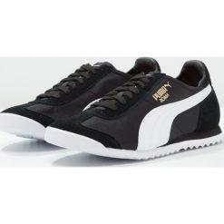 Puma ROMA OG NYLON Tenisówki i Trampki black. Czarne trampki męskie Puma, z gumy. W wyprzedaży za 220,35 zł.
