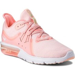 Buty NIKE - Air Max Sequent 3 908993 603 Pink Tint/White/Crimson Tint. Szare buty do biegania damskie marki Nike Sportswear, z materiału, nike air max. W wyprzedaży za 329,00 zł.