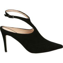 Buty ślubne damskie: Czółenka - 0278-1 CA NER
