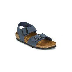 Sandały Dziecko  Birkenstock  NEW YORK. Niebieskie sandały chłopięce Birkenstock. Za 252,36 zł.