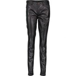 """Odzież damska: Spodnie """"Antonia"""" - Skinny fit - w kolorze czarnym"""