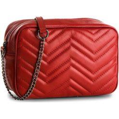 Torebka CREOLE - K10508 Czerwony. Czerwone listonoszki damskie Creole, ze skóry. W wyprzedaży za 169,00 zł.