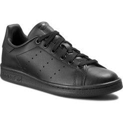 Buty adidas - Stan Smith M20327 Black1/Black1/Black1. Czarne buty do tenisa męskie marki Adidas, z kauczuku. W wyprzedaży za 289,00 zł.