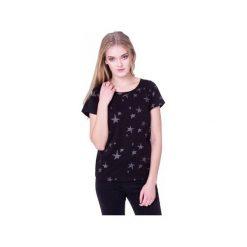 T-shirt Nocne Gwiazdy. Czarne t-shirty damskie Heroesque, m, z okrągłym kołnierzem. Za 59,00 zł.