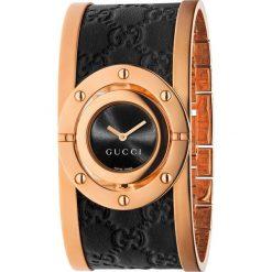 ZEGAREK GUCCI TWIRL YA112438. Czarne zegarki damskie marki GUCCI, ze stali. Za 4390,00 zł.