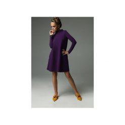 Sukienka Moss - Fioletowa. Fioletowe sukienki dzianinowe marki Madnezz, s, ze stójką. Za 239,00 zł.