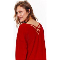 Bluzy damskie: BLUZA NIEROZPINANA DAMSKA GŁADKA
