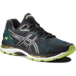 Buty ASICS - Gel-Nimbus 20 T800N  Black/Neon Lime 004. Szare buty do biegania męskie marki Asics, z poliesteru. W wyprzedaży za 529,00 zł.