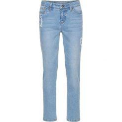 """Dżinsy RELAXED bonprix jasnoniebieski """"bleached"""". Niebieskie jeansy damskie relaxed fit bonprix. Za 59,99 zł."""