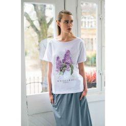 Bluzki, topy, tuniki: KWIATY BZU Oversize t-shirt