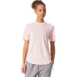 Bluzki damskie: Adidas Koszulka damska ZNE Tee 2 Wool różowa r. L (CE9557)